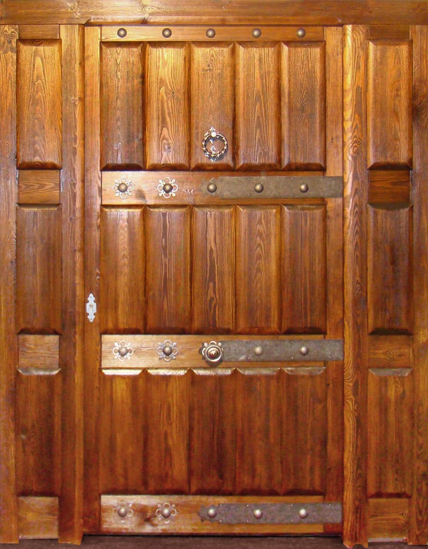 Sistemas Alarmas Puertas De Madera Para Casas De Campo