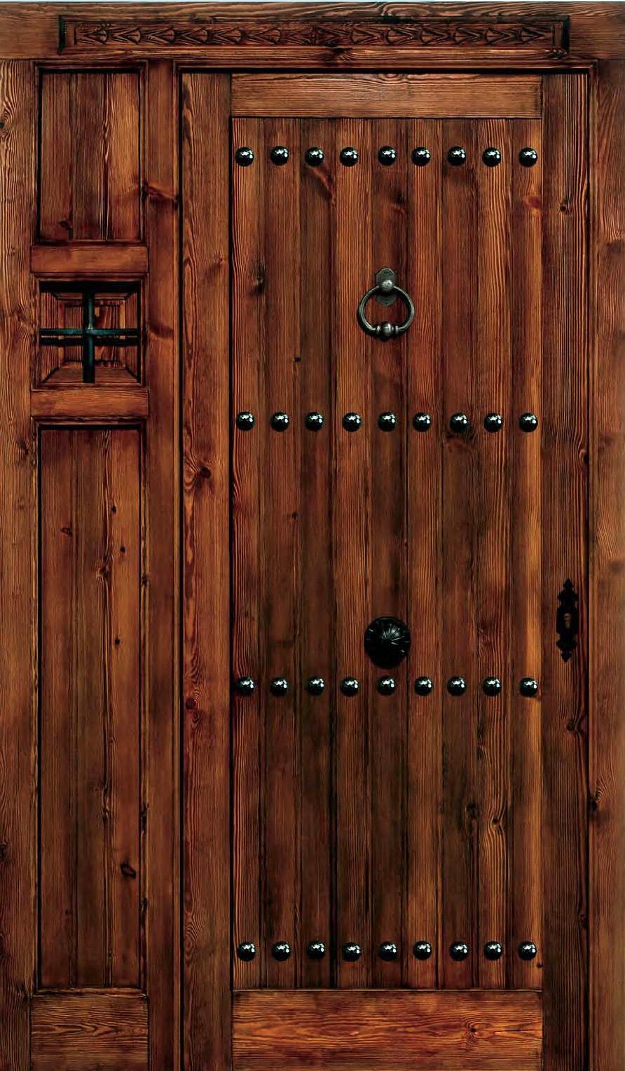 Puertas De Madera Rusticas Excellent Fabrica De Puertas Y